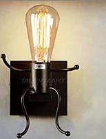 LED Lampade a candela da parete,Rustico Metallo