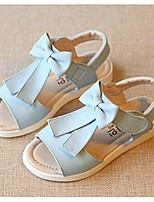 Girls' Shoes Dress / Casual Open Toe Sandals Blue / Pink / White