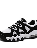 Men's Shoes Casual Tulle Fashion Sneakers White / Orange