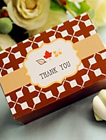 Leafs Wedding Favor Box, Party Candy Box(12pcs/bag)