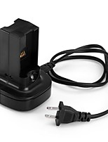 US Plug Battery Dual Charger with 100 - 240V Input for Xbox 360 Wireless Controller