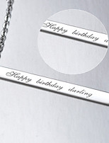 Unisex / Couples' / Women's Silver Necklace Wedding / Engagement / Birthday / Gift