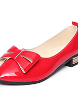 Women's Spring / Summer / Fall Heels Patent Leather Wedding / Dress / Casual / Party & Evening Chunky Heel Black / Red