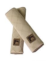 seggiolino auto copertura tracolla sede peluche pad cuscino 2 pz una coppia