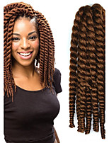12-24 inch Crochet Braid Havana Mambo Afro Twist Hair Extension 30# with Crochet Hook