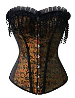 YUIYE® Magic Overwear Bra Up Corset Vest Sexy Body Shaper Waist Cincher Trainer Lift Waist Trainer Brown Plus Size