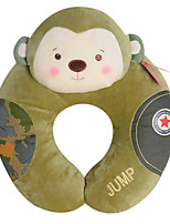 Metoo Senbao Monkey U-Shaped Pillow Cartoon Plush Creative Birthday Monkey Mascot U-Shaped Pillow Camouflage Treasure