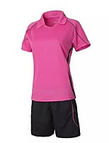 Others Women's Short Sleeve Soccer Clothing Sets/Suits Breathable / Quick Dry / Leisure Sports / Football /