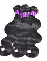 3pcs / lot grâce produits capillaires malaysian vierge vague de corps de poils non transformés malaisiens faisceaux de tissage de cheveux