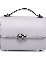Women-Formal / Office & Career-Cowhide-Shoulder Bag-Gray / Black