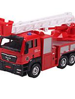 Dibang - Children's toy car 1:60 engineering truck Pull back alloy car model toy excavators (4PCS)