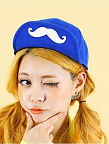 Unisex Casual Cute Mustache Hip Hop Baseball Cap