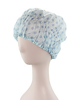 Cute  Waterproof Shampoo Ladies Fashion  Satin Shower Cap Bath Hair Turban