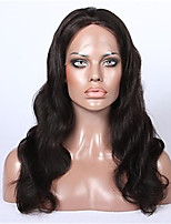 7A Grade Silk Top Indian Full Lace Human Hair Wigs Body Wave Virgin Hair With Baby Hair For Black Women