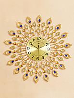 Modern Style Creative Fashion Diamond Mute Wall Clock