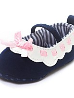 Baby Shoes Outdoor Cotton Flats Blue