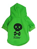 Dog Hoodie / Hoodie A variety of colors / Spring And Fall  Floral / Skulls Fashion