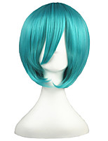 VOCALOID-MIKUO Green 14inch Anime Cosplay Wig CS-001F