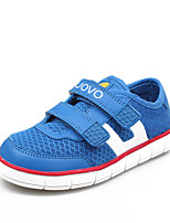 Boys' Shoes Casual PU / Tulle Fashion Sneakers Blue