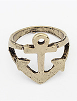 Personality Punk Anchor Ring