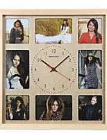 Simple wall clock 9