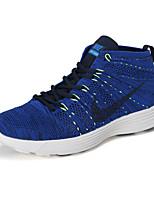 Zapatos Sneakers Tejido Negro / Azul / Gris Hombre