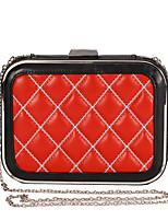 L.WEST Women's Plaid Evening Bag