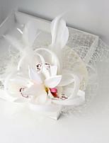 Mulheres Tecido / Rede Capacete-Casamento / Ocasião Especial Fascinador 1 Peça