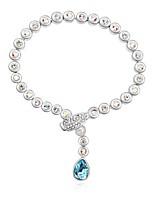 Thousands of colors Women's Charm Bracelet Alloy Crystal-3-212