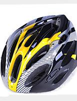 Casque Vélo(Jaune / Rouge / Gris / Bleu,EPS / PVC)-deUnisexe-Cyclisme / Cyclotourisme Sports 19 Aération L: 58-61CM