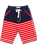 Boy's Cotton Shorts,Summer Striped