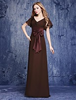 Lanting Bride A-line Mother of the Bride Dress Floor-length Chiffon with