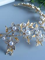 Dame Perle / Rhinestone / Legering Headpiece-Bryllup / Spesiell Leilighet Pannebånd 1 Deler