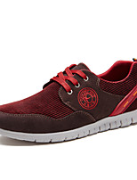 Men's Shoes Office & Career / Athletic / Casual Synthetic Fashion Sneakers Blue / Brown / Burgundy