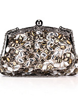 Women-Formal / Event/Party / Wedding / Office & Career / Shopping-Polyester-Evening Bag-Gray