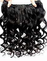 Loose Wave Clip In Human Hair Extensions 7A Best Human Hair Brazilian Virgin Hair Clip In Extension 120g/Set