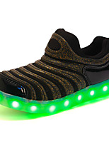 LED's Shoes Boys' Shoes Outdoor / Casual Synthetic / Tulle Fashion Sneakers Black / Blue