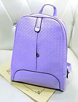 Women PU Outdoor Backpack