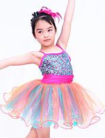 Children Dance Dancewear Kids' Ballet Dress Kids' Ballet Dance Wear