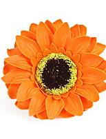 Romantic Novelty Soap Rose Flower Gift for Lovers Washing 50pcs/set(Random Color)
