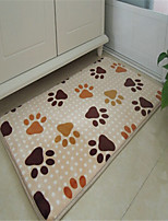 Casual Style Coral Velvet Material Thickened Non-Slip Mat W16