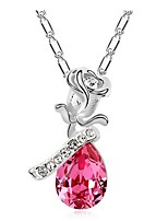 Thousands of colors  Women's Alloy Necklace Daily Crystal-1-850