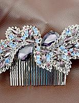 Mujer Diamantes Sintéticos / Aleación Celada-Boda / Ocasión especial Peinetas 1 Pieza