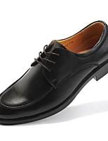 אוקספורד גברים של נעליים חתונה / משרד ועבודה / שמלה / קז'ואל / מסיבה וערב עור נאפה Leather חום