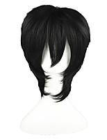 DuRaRaRa!! -Orihara Izaya Black 14inch Anime Cosplay Wig CS-003A