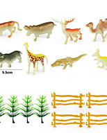 Education Solid Wild Animal Dinosaur Simulation Model Set Decoration Static Resin Toys For Children
