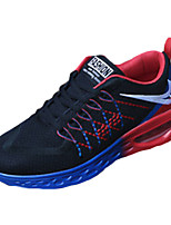 Men's Shoes Athletic Tulle Fashion Sneakers Green / Red / Orange