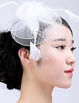 קישוטי שיער כיסוי ראש נשים חתונה / אירוע מיוחד / קז'ואל / חוץ נוצה / טול חתונה / אירוע מיוחד / קז'ואל / חוץ חלק 1