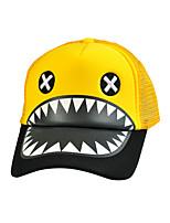Unisex Wool Casual Baseball Hip-hop Cool Shark Pattern Mesh Cap