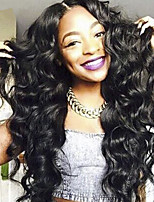 Indian Virgin Hair Wigs African American Full Lace Human Hair Wigs Best Glueless Body Wave Lace Front Wigs